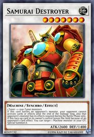 Duel Links Card: Samurai%20Destroyer