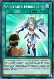 Duel Links Card: Valkyrie's%20Embrace