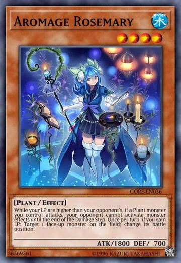 Duel Links Card: Aromage%20Rosemary