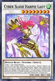 Duel Links Card: Cyber%20Slash%20Harpie%20Lady