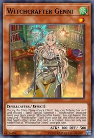 Duel Links Card: Witchcrafter%20Genni