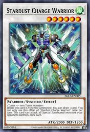 Duel Links Card: Stardust%20Charge%20Warrior