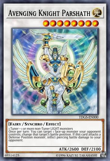 Duel Links Card: Avenging%20Knight%20Parshath