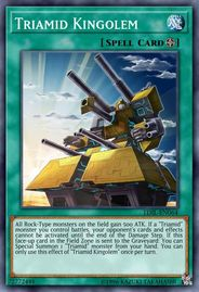 Duel Links Card: Triamid%20Kingolem