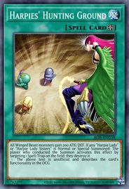 Duel Links Card: Harpies'%20Hunting%20Ground