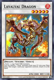 Duel Links Card: Lavalval%20Dragon