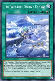 Duel Links Card: The%20Weather%20Snowy%20Canvas