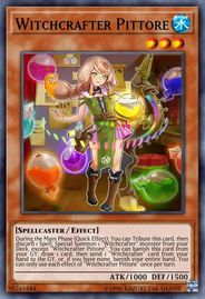 Duel Links Card: Witchcrafter%20Pittore