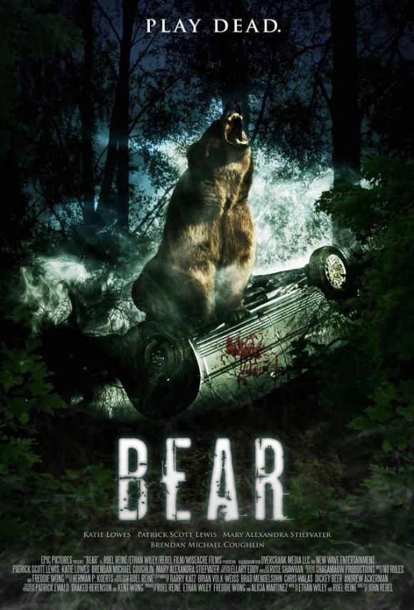 Niedźwiedź / Bear (2010) PL.DVDRip.XviD-mx07 | Lektor PL