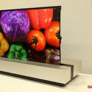 Sharp е готов със сгъваем телевизор