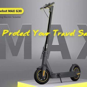 Ninebot KickScooter Max G30 – сгъваем, бърз, с дълъг пробег