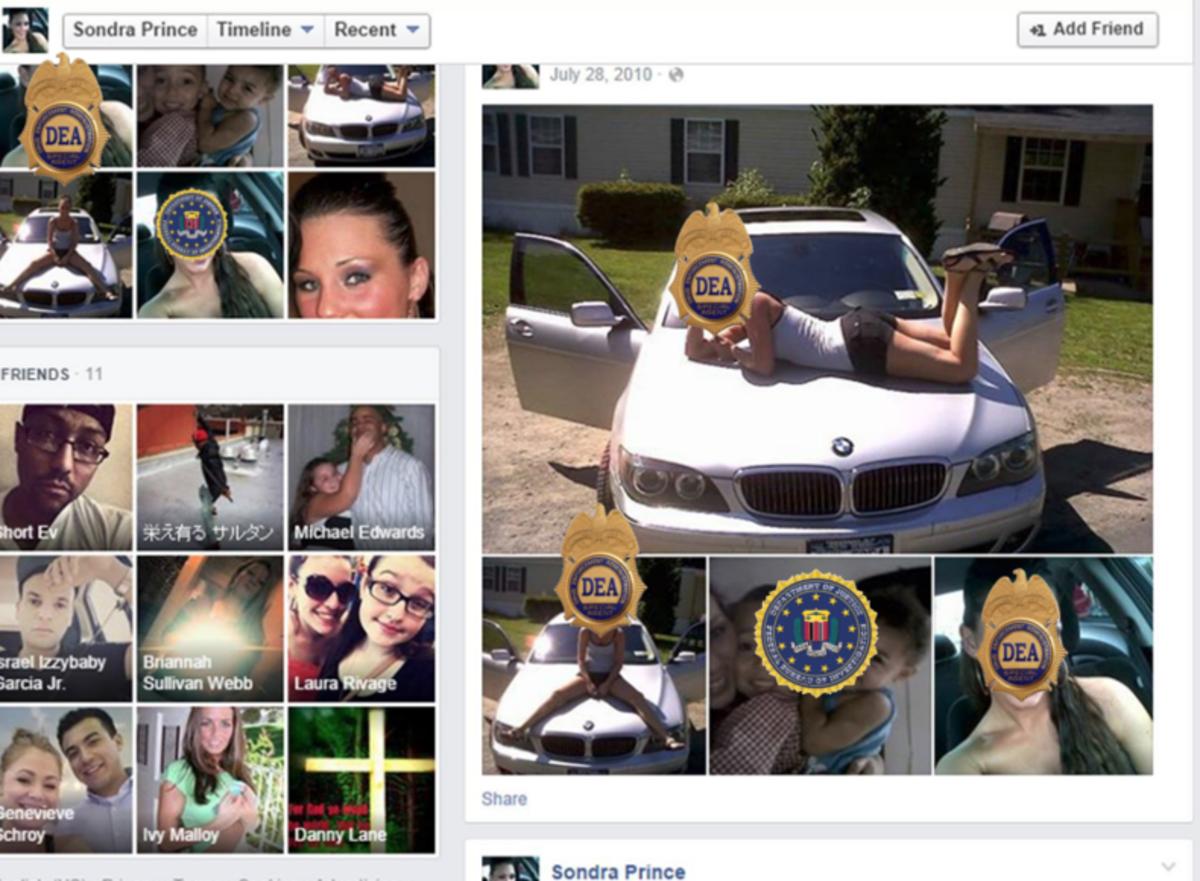 dea fbi facebook