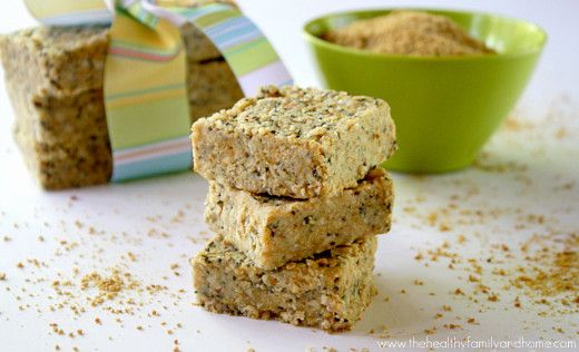 Raw Hemp and Chia Seed Bars | The Healthy Family and Home