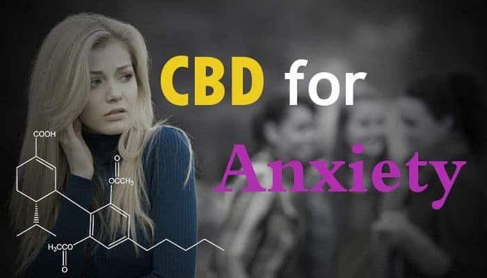 Cannabidiol & Hemp CBD Oil for Anxiety