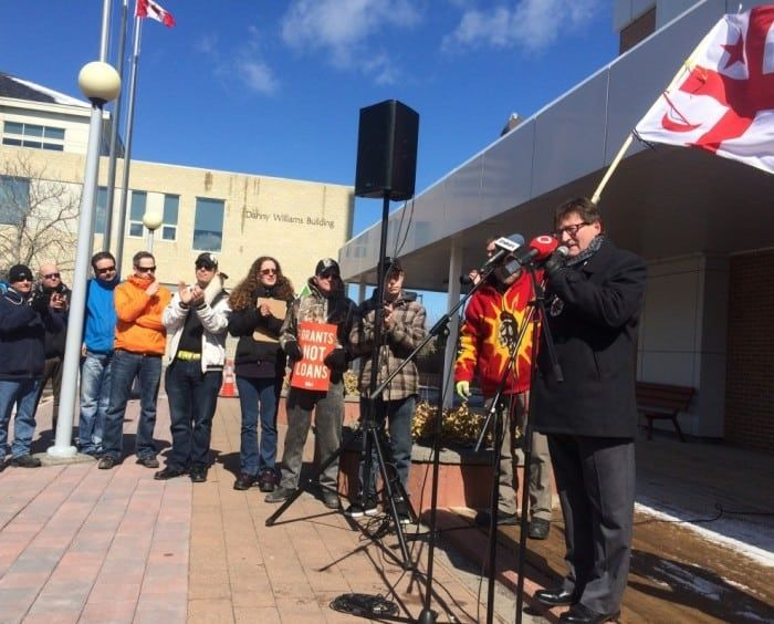 Corner Brook residents march against austerity