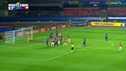 美洲國家盃精華 - 日本 0-4 智利︱山齊士一入球一助攻 日本錯失多次良機雖敗不辱