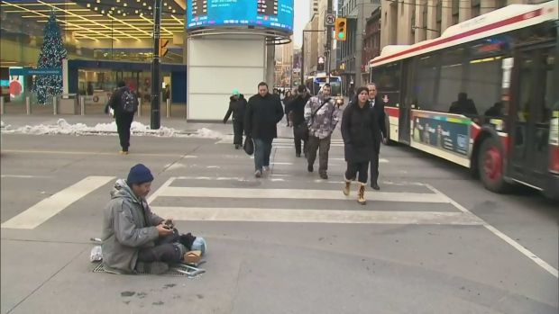 CTV Toronto: Freezing weather in the city