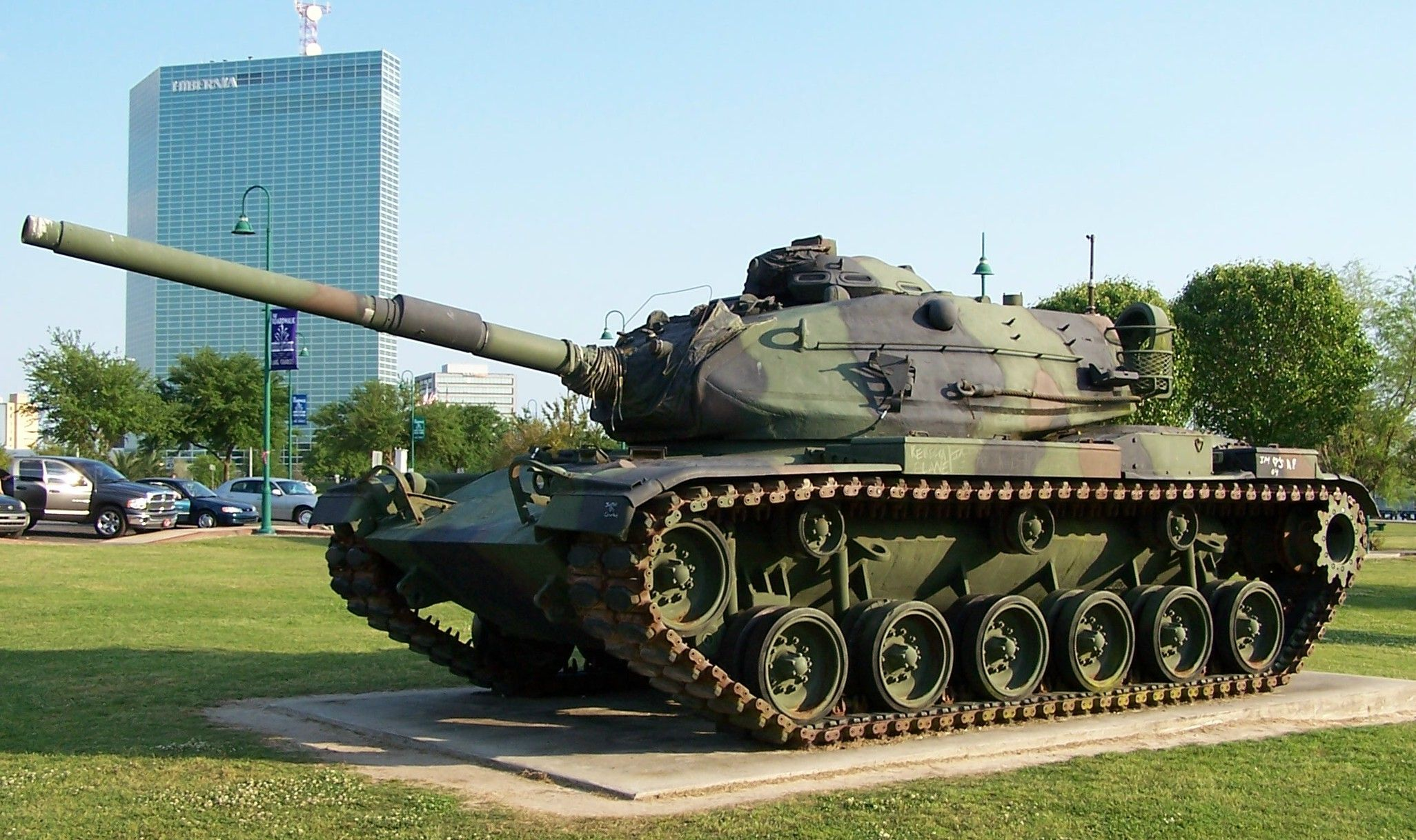 [Image: American_M60A3_tank_Lake_Charles%2C_Loui...l_2005.jpg]