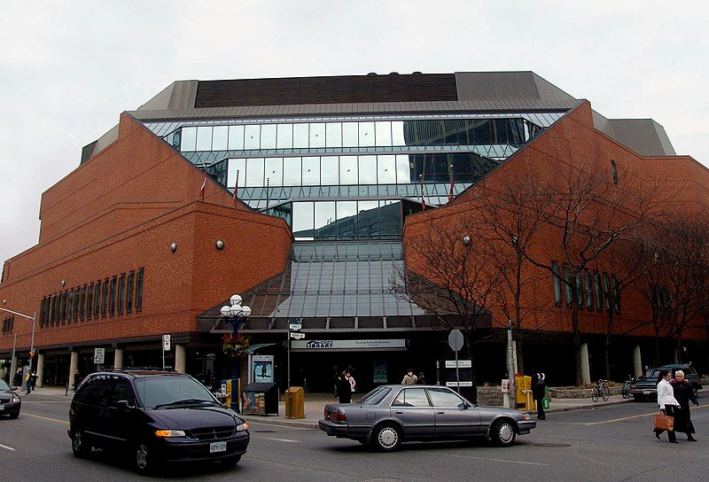 File:Toronto Reference Library, exterior.jpg