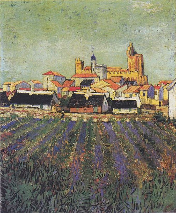 https://upload.wikimedia.org/wikipedia/commons/thumb/f/f1/Van_Gogh_-_Blick_auf_Saites-Maries1.jpeg/496px-Van_Gogh_-_Blick_auf_Saites-Maries1.jpeg