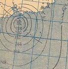 1944年7月21日的地面天气图