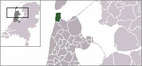 Den Helder 登海尔德的位置