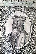 picture of Robert Estienne