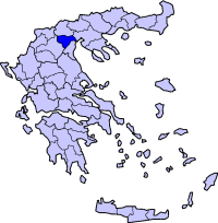 伊马夏州在希腊的位置