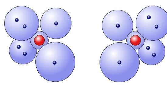 氧原子的模型