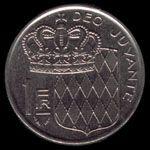 1摩纳哥法郎(1978年)硬币反面