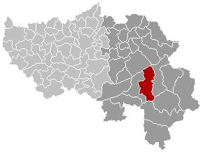 Malmedy Liège Belgium Map.png
