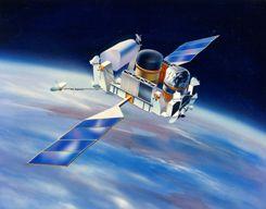 康普顿伽玛射线天文台想象图