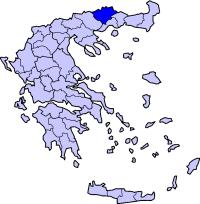 兹拉马州在希腊的位置