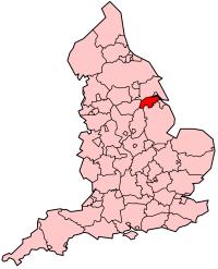 北林肯郡在英格兰的位置