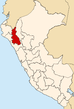 Location of Cajamarca Region.png