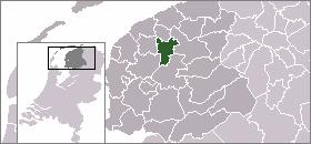 吕伐登 Leeuwarden的位置