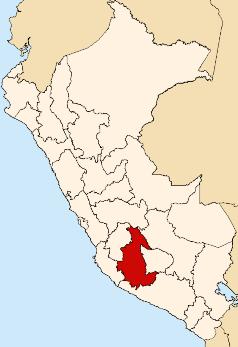Location of Ayacucho Region.png