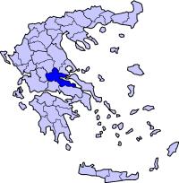 弗西奥蒂斯州在希腊的位置