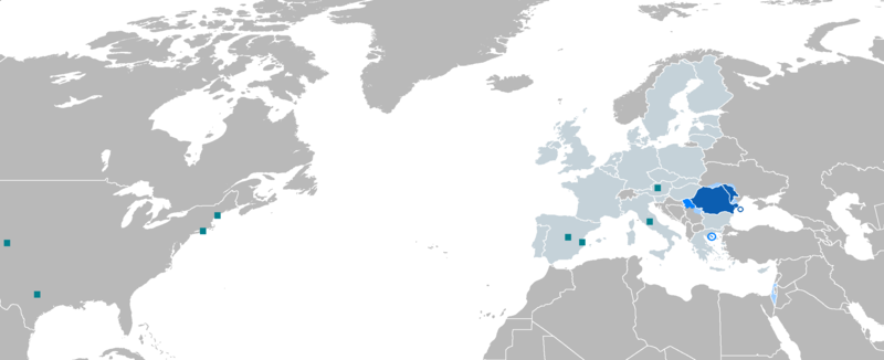 Românofonia (Romanian language in the world)