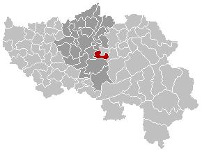 Trooz Liège Belgium Map.png