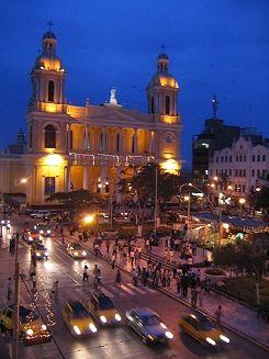 Chiclayo's main square