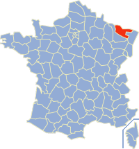 摩泽尔省在法国的位置