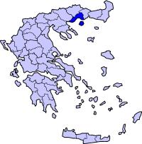 卡瓦拉州在希腊的位置