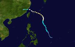 强台风菲特的路径图