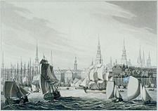 'Hamburg' by Robert Bowyer, 1814