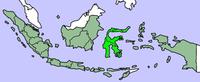 Location of 苏拉维西 Sulawesi