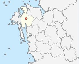 瑞山市的位置