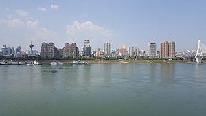 Yichang skyline