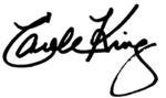 Carole King signature.png