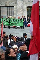 Protest hikoi during the Foreshore and Seabed controversy in 2004